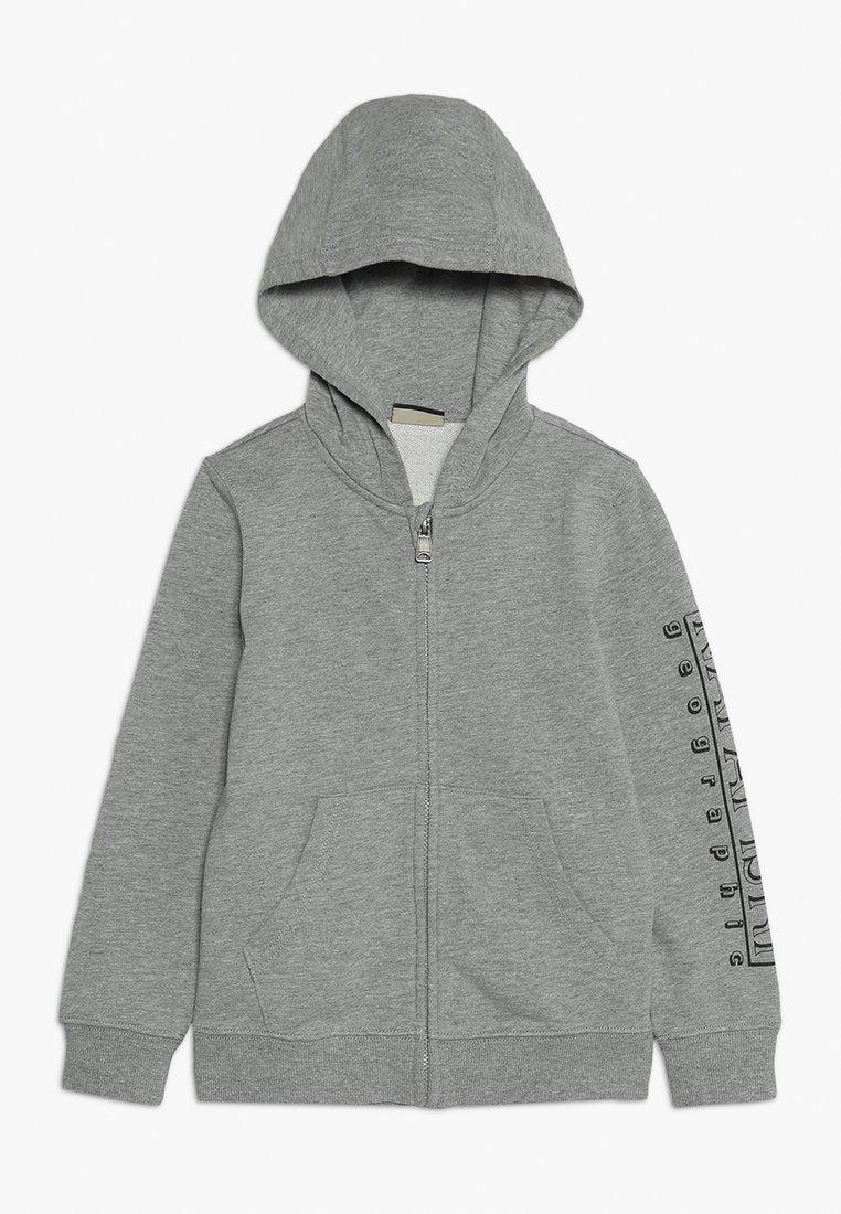 Napapijri - Sweatjakke /Træningstrøjer - med grey mel