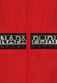 Napapijri - RAINFOREST OPEN  - Outdoorová bunda - high risk red - 4