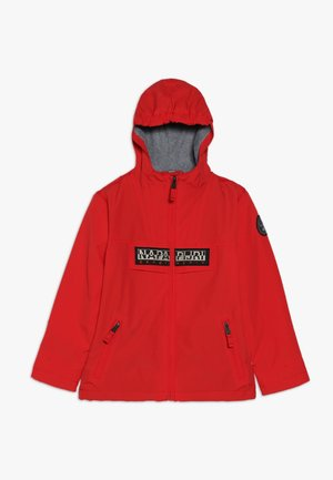 RAINFOREST OPEN  - Outdoor jacket - high risk red