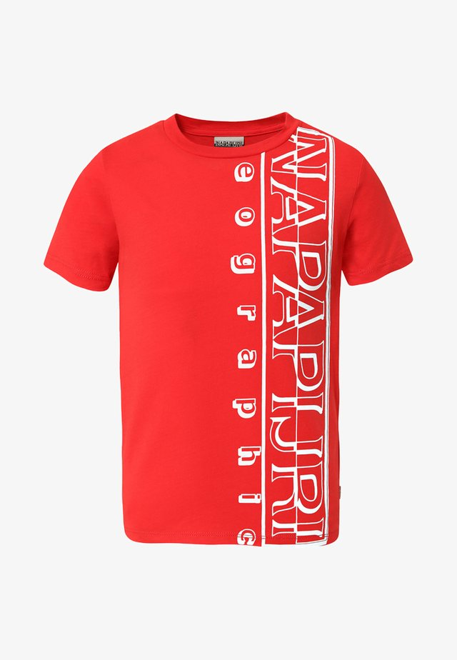 K SERI - Camiseta estampada - bright red
