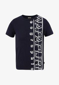 Napapijri - K SERI - Print T-shirt - blue marine - 0