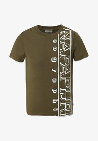 Napapijri - K SERI - T-Shirt print - green - 0