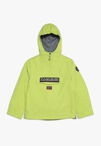 Napapijri - RAINFOREST WINTER - Outdoor jacket - yellow lime - 0