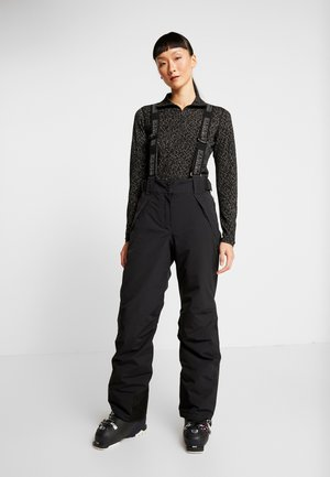 NELO - Pantaloni da neve - black