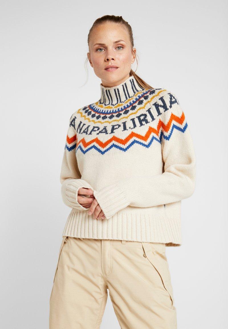 Napapijri - DUNE - Pullover - whitecap gray