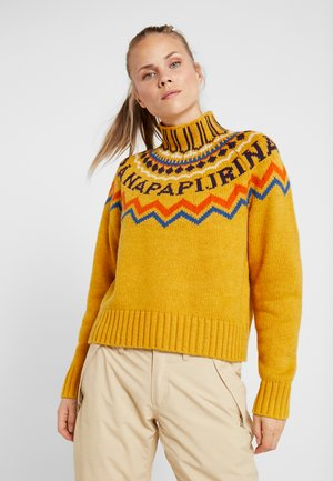 DUNE - Strickpullover - gold yellow