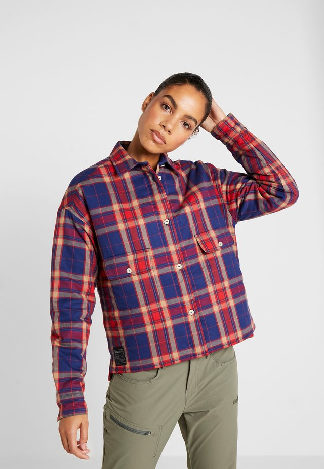 GIRES - Kurtka Outdoor - red check