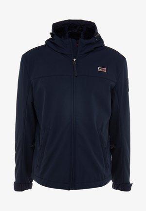 ABRAHA - Snowboard jacket - blu marine