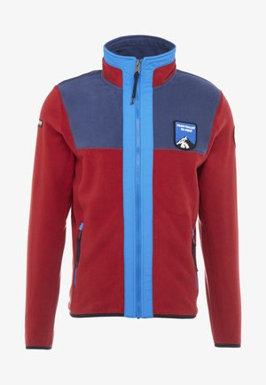 TRAVER  - Fleecová bunda - red