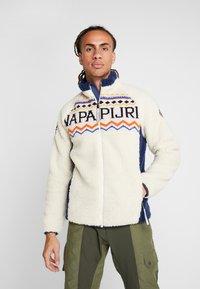 Napapijri - THIA - Kurtka z polaru - whitecap gray - 0