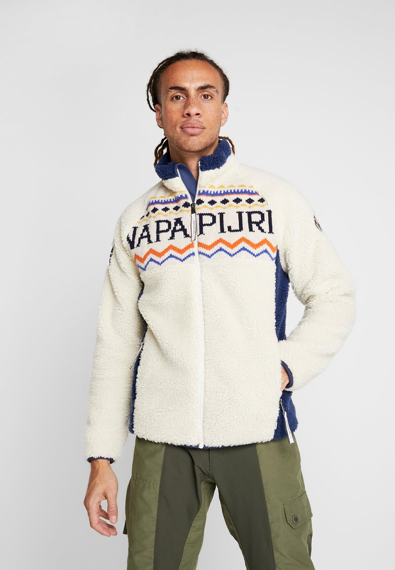 Napapijri - THIA - Kurtka z polaru - whitecap gray