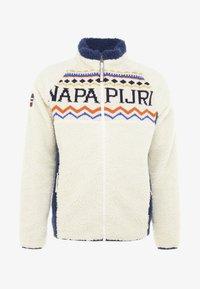 Napapijri - THIA - Kurtka z polaru - whitecap gray - 3