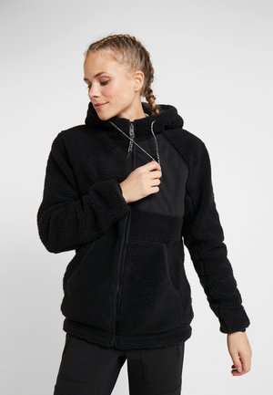 TOE  - Fleece jacket - black