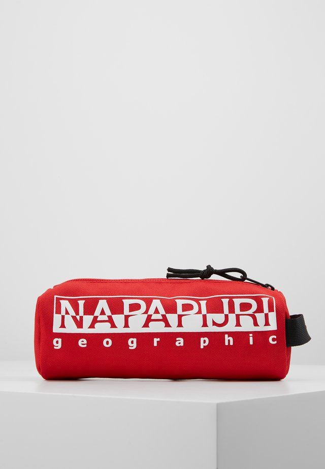HAPPY - Pencil case - bright red
