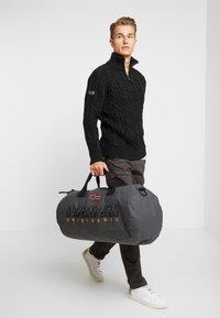 Napapijri - BERING  - Sports bag - dark grey solid - 1