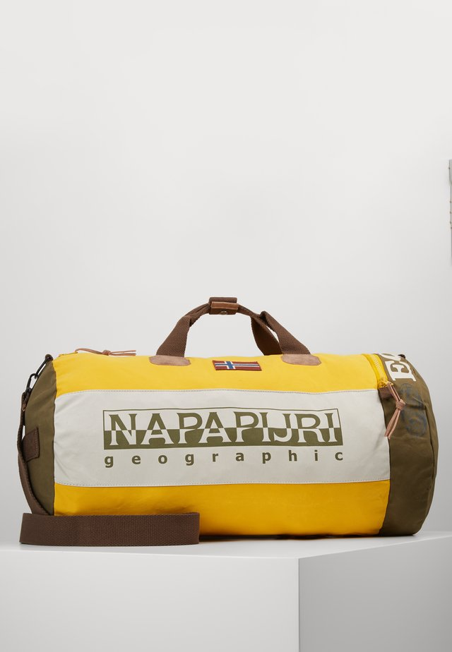 HERING DUFFLE - Bolsa de fin de semana - mango yellow