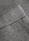 Name it - MIT WEITEM BEIN RIPPDESIGN - Tygbyxor - dark grey melange