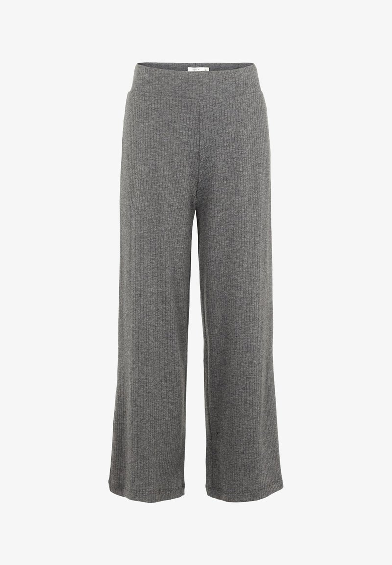 Name it - MIT WEITEM BEIN RIPPDESIGN - Pantalon classique - dark grey melange