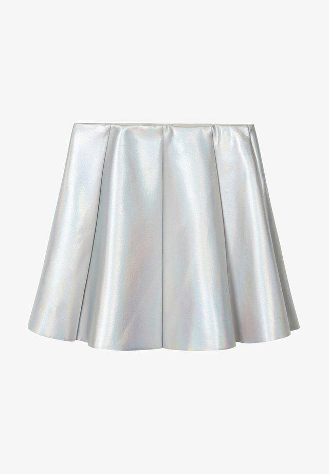 Mini skirts  - silver