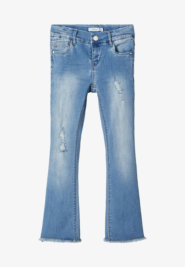 Bootcut jeans - light blue denim