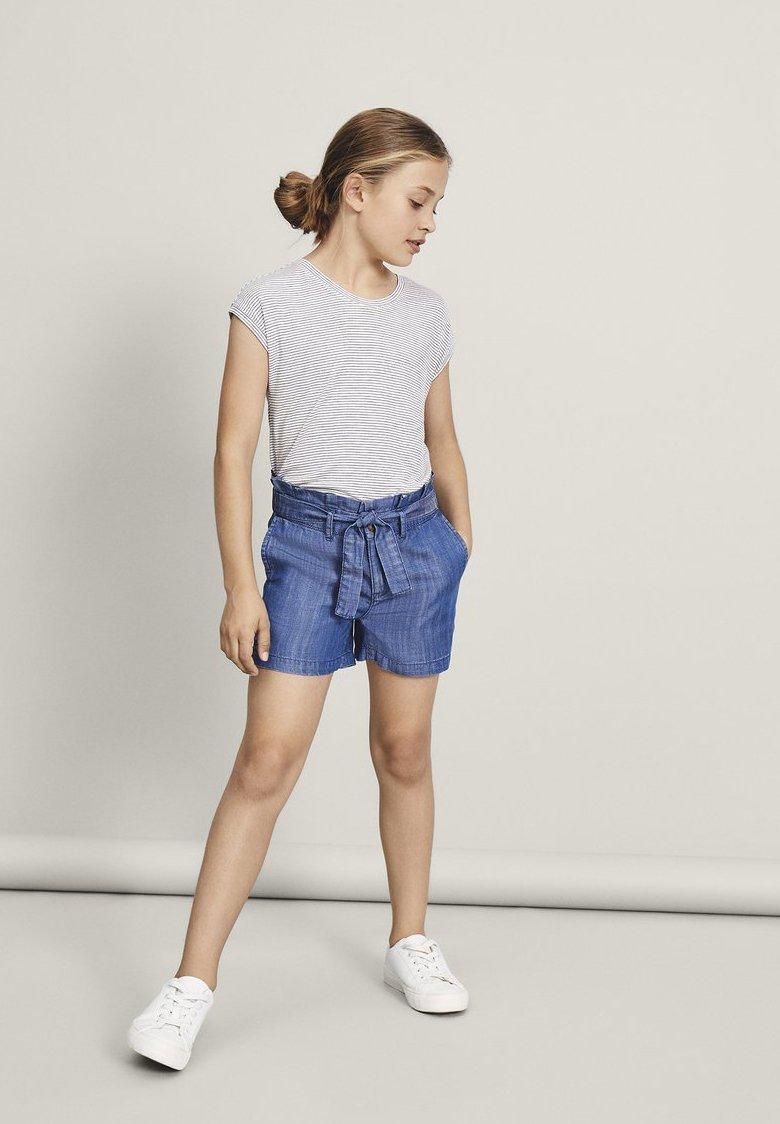 Name it - Short en jean - medium blue denim