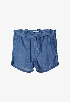 Jeansshort - medium blue denim