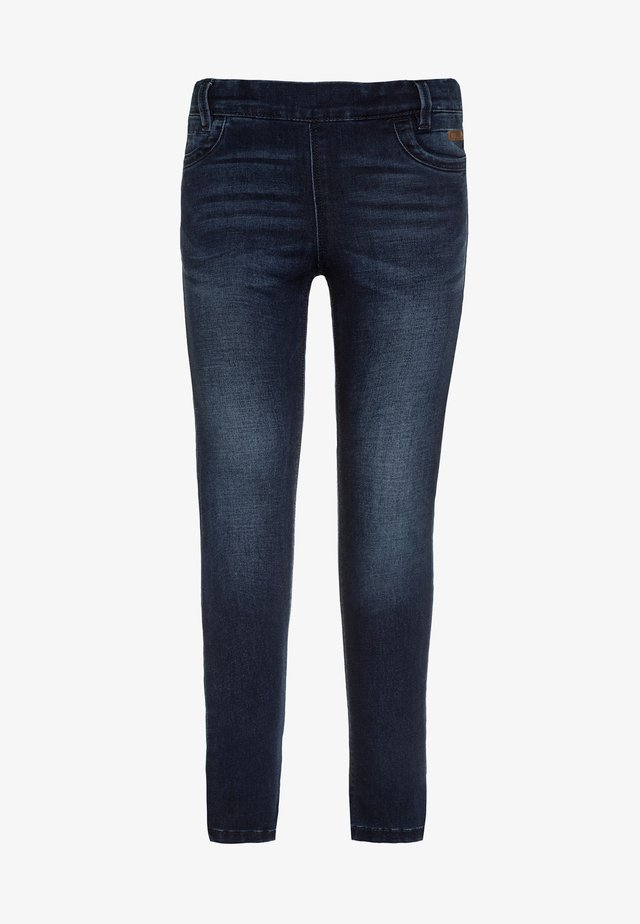 NITTONJA - Jeans Skinny Fit - dark blue denim