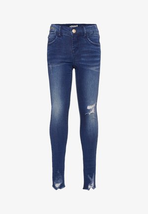 SUPER STRETCH - Jeans Skinny - dark blue denim