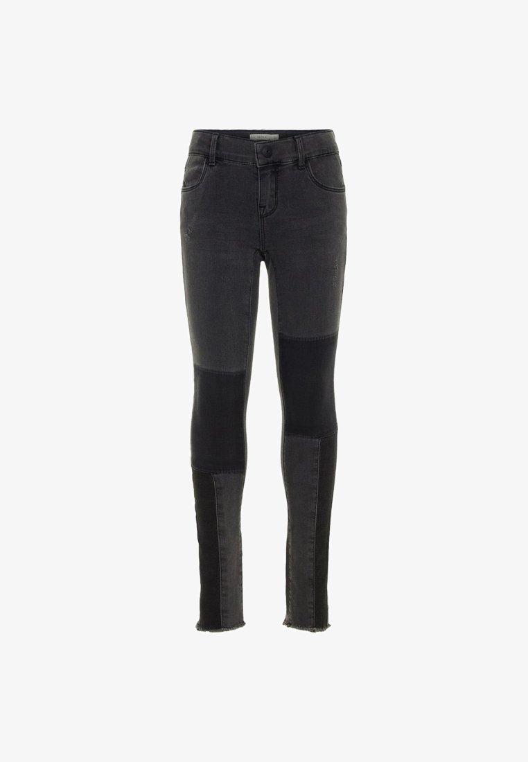 Name it - POLLY SKINNY FIT SUPER STRETCH - Jeans Skinny Fit - dark grey denim