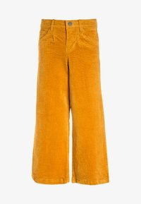 Name it - NKFSAMOSA WIDE LEG PANTS - Kalhoty - golden glow - 0