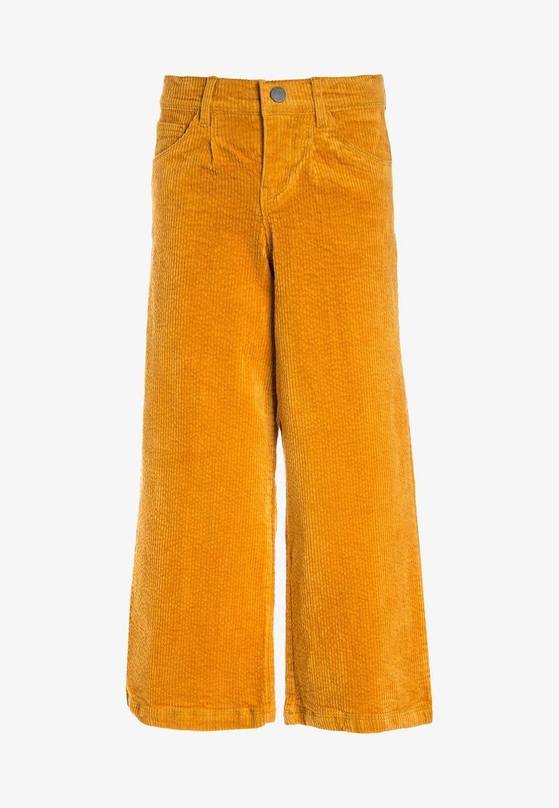 Name it - NKFSAMOSA WIDE LEG PANTS - Kalhoty - golden glow
