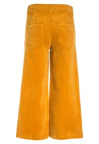 Name it - NKFSAMOSA WIDE LEG PANTS - Kalhoty - golden glow - 1