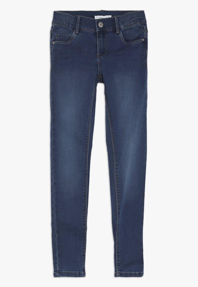 NKFPOLLY DNMZASCHA PANT - Jeans Skinny Fit - medium blue denim
