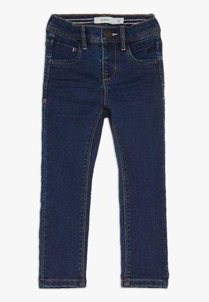 NMFPOLLY PANT CAMP - Skinny džíny - medium blue denim