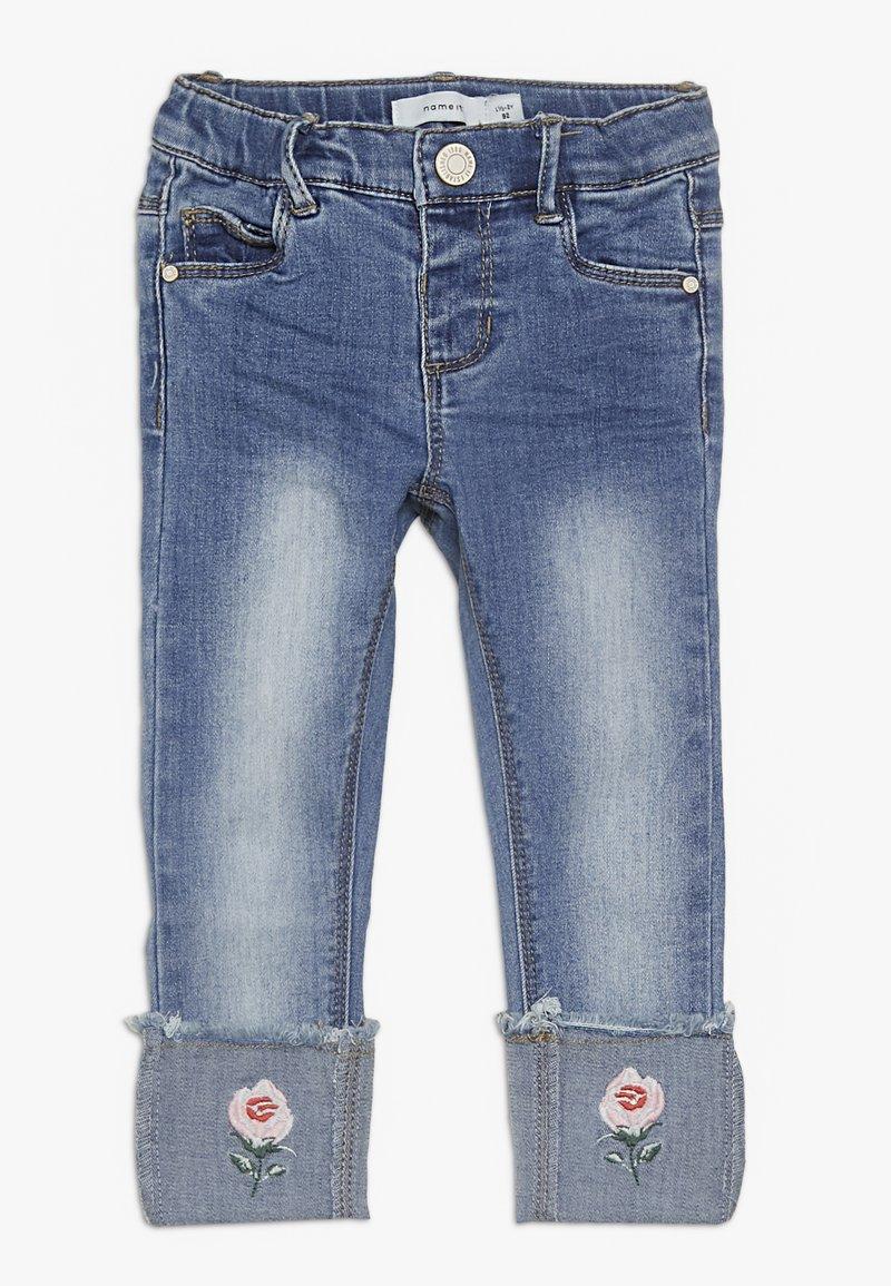 Name it - NMFPOLLY DNMBILA  ANCLE PANT - Jeans Skinny Fit - medium blue denim