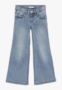 Name it - NKFATERETE WIDE PANT - Jeans bootcut - light blue denim - 0