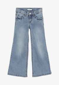 Name it - NKFATERETE WIDE PANT - Jeans bootcut - light blue denim - 3