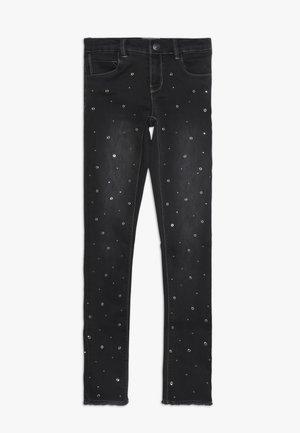NKFPOLLY DNMATERA ANCLE PANT - Jeans Skinny Fit - dark grey melange