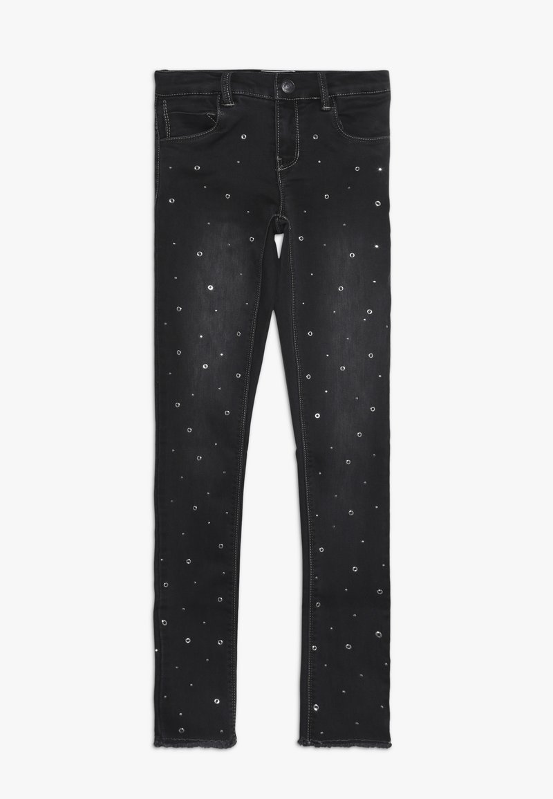 Name it - NKFPOLLY DNMATERA ANCLE PANT - Jeans Skinny Fit - dark grey melange