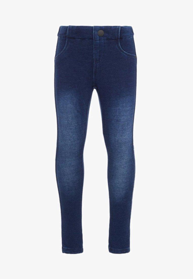 Name it - LÄNGSSTREIFEN - Jeans Skinny Fit - dark blue denim