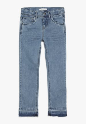 NKFROSE PANT - Jeans Slim Fit - medium blue denim