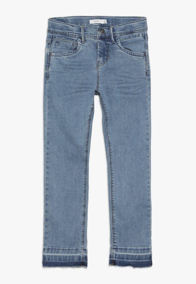 NKFROSE PANT - Jeans Slim Fit - medium blue denim