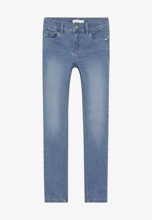 NKFPOLLY PANT - Skinny džíny - medium blue denim