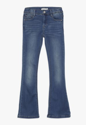 NKFPOLLY DNMATULLA BOOT PANT - Jeansy Bootcut - medium blue denim