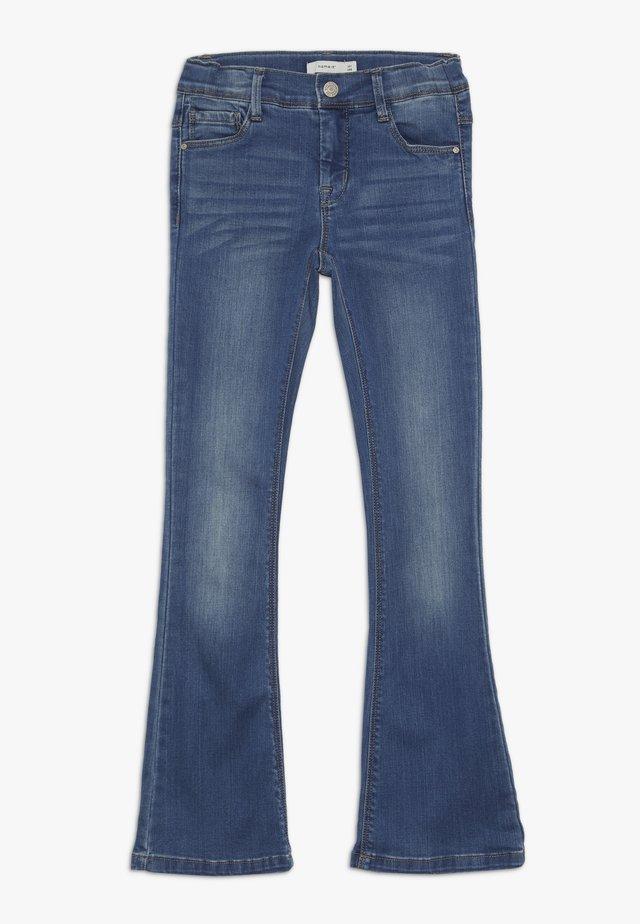 NKFPOLLY DNMATULLA BOOT PANT - Jeans bootcut - medium blue denim