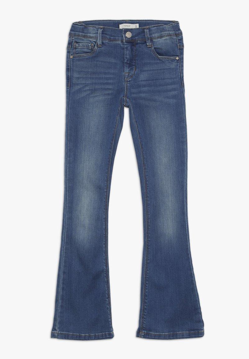Name it - NKFPOLLY DNMATULLA BOOT PANT - Džíny Bootcut - medium blue denim