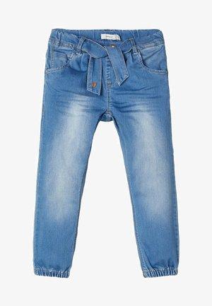 BAGGY - Slim fit jeans - medium blue denim