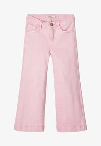 Name it - MIT WEITEM BEIN 7/8 - Jeans relaxed fit - pink - 0