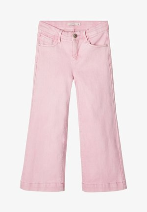 MIT WEITEM BEIN 7/8 - Jeansy Relaxed Fit - pink