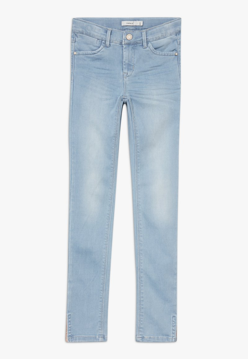 Name it - NKFPOLLY 1319 ANCLE PANT - Jeans Skinny Fit - light blue denim